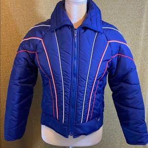 Vintage ski jacket puffy